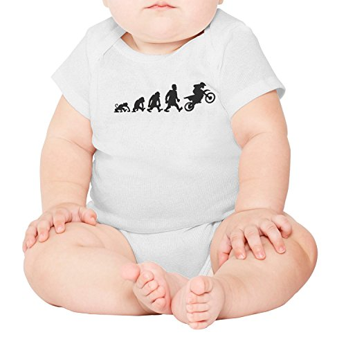 gxxiishow Motorcycle Evolution Motor Bike Personalized Baby Boy Girl Onesies