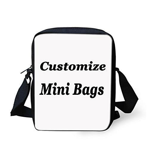 Showudesigns Children Customize Mini Shoulder Bag Kids Boys Girls Custom Crossbody Bag Small for Men ()