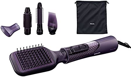 Philips ProCare Moldeador HP8656/00 - Moldeador de pelo (220-240V, 2m, Violeta, Cepillar, Boquilla, Volume styler)
