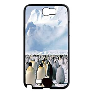 Penguin CHA6087523 Phone Back Case Customized Art Print Design Hard Shell Protection Samsung Galaxy Note 2 N7100