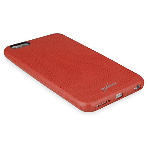 BoxWave Schutzhülle für Apple iPhone 6Plus Boxwave Slimgrip Schutzhülle für Apple iPhone 6Plus TPU case für Apple iPhone 6Plus, stabil, rutschfest, Farbe: Scarlet Red)