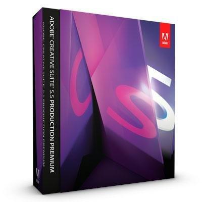 New Adobe Software Creative Suite V.5.5 Production Premium 1 User Intel-Based Mac Retail