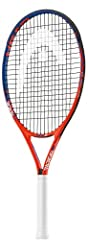 HEAD's junior racquet series helps kids to get started on their exciting tennis journey. The Radical 25 is perfect for most kids between 8 and 10 years old. With matching graphics to the racquet used by tennis pro Andy Murray, this lightweigh...