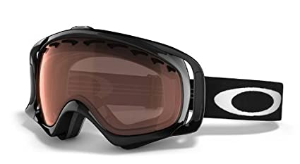 223eaf56b7 Oakley Crowbar Adult Snowmobile Goggles - Jet Black Black Iridium One Size