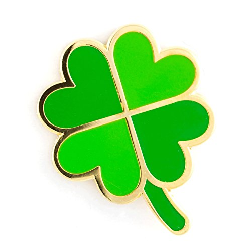 These Are Things Four Leaf Clover Enamel (Enameled Leaf Pin)