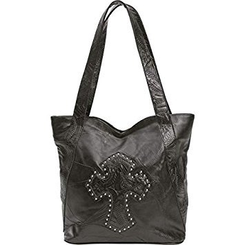 Embassy Design Genuine Leather Purse With Studded - Leather Genuine Bag Shoulder Embassy