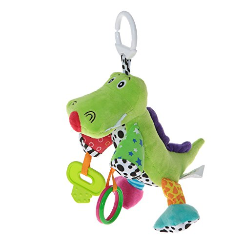 Wingingkids Infant Toys for Pushchair Plush Dinosaur for Baby Girls and Boys Gifts (Baby From The Dinosaurs)