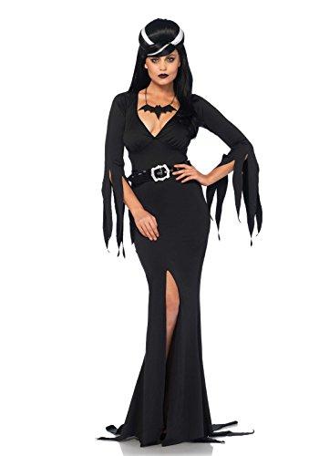Leg Avenue Women's Immortal Beauty Costume, Black, Medium/Large