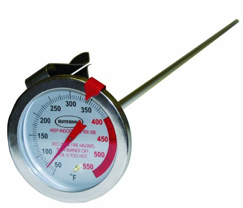 MasterBuilt 23102009 Butterball Stainless Thermometer product image
