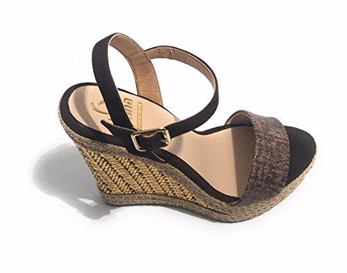 KANNA Goa Ante - Sandalias de vestir para mujer marrón EUR 36