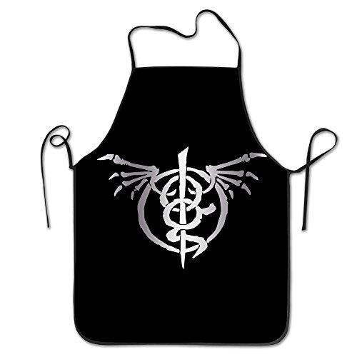 [Wrath Lamb Of God Platinum Logo Kitchen Crafting Apron] (Female Roadrunner Costume)