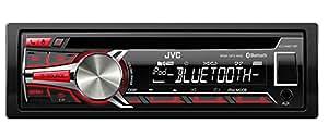 JVC KD-R851BTE - Radio para coches de 200 W (4 x 50 W, CD, DVD, FM, LW, MW, MP3), negro