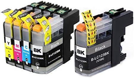 Laurel LC123 Cartuchos de impresora Repuestos para Brother LC123 ...