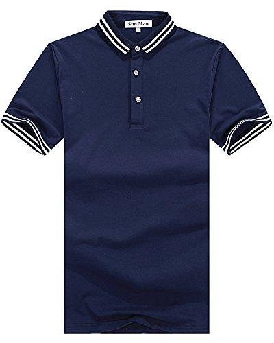 Yookie ポロシャツ メンズ ゴルフウェア 半袖 抗菌防臭 吸汗速乾 夏ポロシャツ 春夏季対応トップス 修身 通気性 094