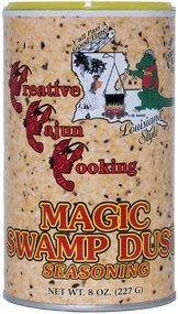 Magic Swamp Dust Cajun Seasoning, 8 Ounce Canister
