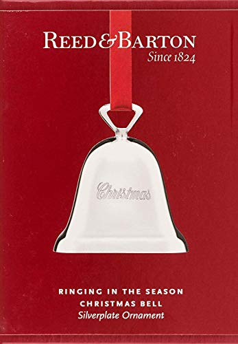(Reed & Barton Ringing in the Season Silver-Plated Christmas Bell Ornament)
