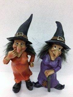 Darice Miniscape Halloween Witch: 5