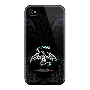 New Iphone 4/4s Case Cover Casing(shadow Eyes)