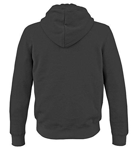 Noir À Longues Uni Capuche Sweat Alpha Ind Homme shirt Manches qxfFSz