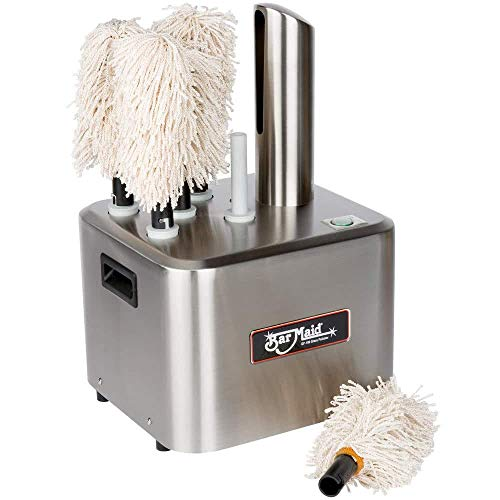 Bar Maid GP-100 Commercial Glass Polisher for Hotels, Caterers, Bars, Restaurants, Event venues and Glassware Rental Companies, ()