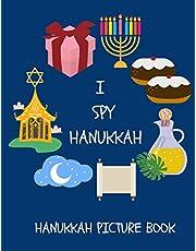 I Spy Hanukkah - Hanukkah Picture Book: Hanukkah Activity Book for Kids, Toddlers and Preschool | 36 Pages