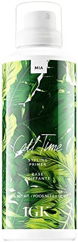 Hair Styling: IGK Call Time Styling Primer