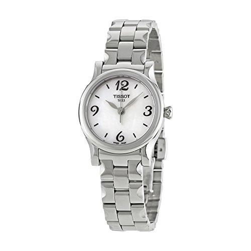 Tissot Stylis-T 3-Hand Bracelet Mother-of-Pearl Dial Women's Watch #T028.210.11.117.02