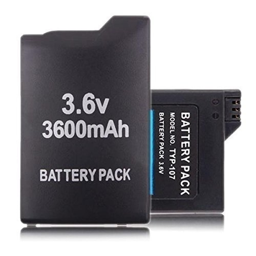 LiamTu® 3.6V 3600mAh Lithium Rechargeable Battery for Sony PSP 1000