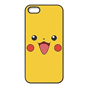 iPhone 5 5s Cell Phone Case Black Pikachu 001 HIV6755169539451