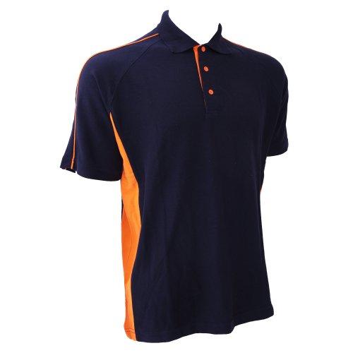 100 Polo Roi Sport Hales Courtes Bleu Manches amp; Coton À Homme Finden noir ETO0fxqwnE
