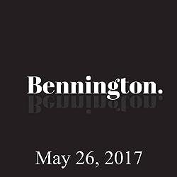 Bennington, May 26, 2017