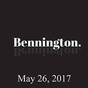 Bennington, May 26, 2017 Radio/TV Program