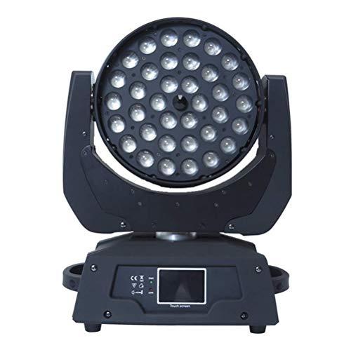 Beam LED 36 Move Head Lights | 36 4 En 1 Tinte Luces De Cabeza Móvil | Iluminación Escénica | LED Enfoque Moviendo Luces...