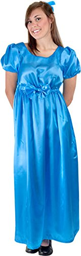 Wendy From Peter Pan Costume For Adults (Women's Wendy Halloween Costume Dress Size 8-12)