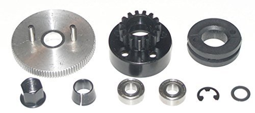 Traxxas 1 10 Slayer 3.3 Pro 15T CLUTCH BELL - SHOES - SPRING - FLYWHEEL & MAGNET by Traxxas