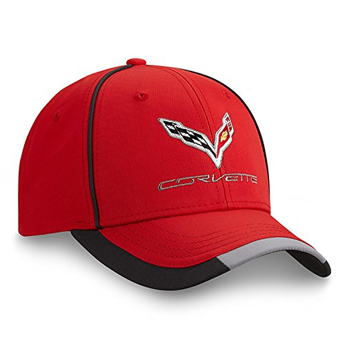 (C7 Corvette Performance Cap Red One Size )