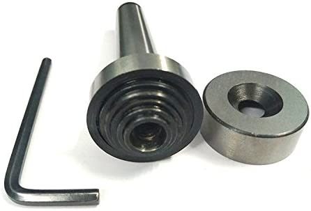 Precision Slitting Saw Holder Arbor MT-3 Shank For Slit Discs Milling Lathe Tools-M12 x 1.75 Drawbar