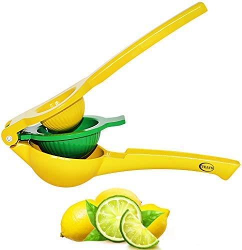 Lemon Lime Squeezer By Teja's- Citrus Hand Press Juicers Squeeze for Lemon – Dishwasher safe – Premium Quality Kitchen Tool]()