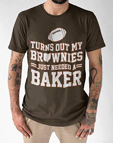 (Turns Out My Brownies Just Needed A Baker Funny Cleveland Football Lovers Gift Customized Handmade T-Shirt Hoodie/Long Sleeve/Tank Top/Sweatshirt)