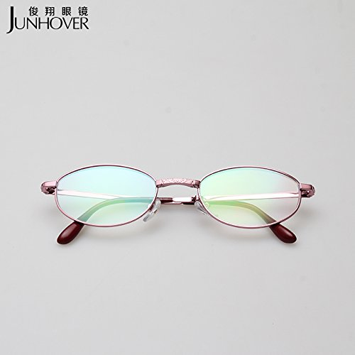 les lunettes de marque presbyopic pliantes ultra - portatif presbyopic multifonctionnel femmes hd de résine sont de véritables lunettes enduits de résine 250 degrés
