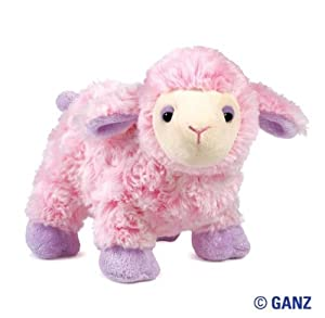 Webkinz Plush Stuffed Animal Dreamy Sheep from Ganz