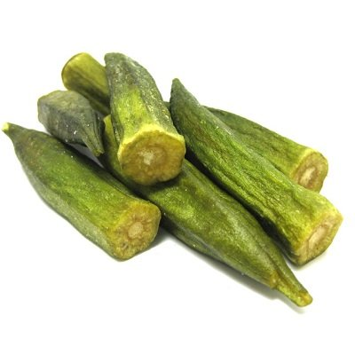 Chips BCA43154 Okra Chips, 6 x 2 lbs by chips