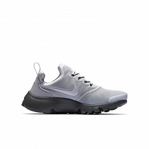 01584792f592 Galleon - NIKE Boys Grade School Presto Fly Shoes Wolf Grey Wolf Grey-Dark  Grey-Black (4)