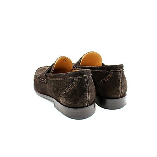 Giorgio Rea Zapatos Para Hombre Marrón Elegante Hombre Zapatos Hecho A Mano EN Italia Cuero Real Brogue Oxfords Richelieu Mocasines Marrón