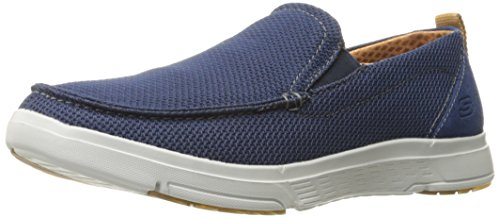 outlet locations discount get authentic Skechers Men's Moogen Selden Slip-On Loafer Navy clearance lowest price cheap vQEGoGl1O