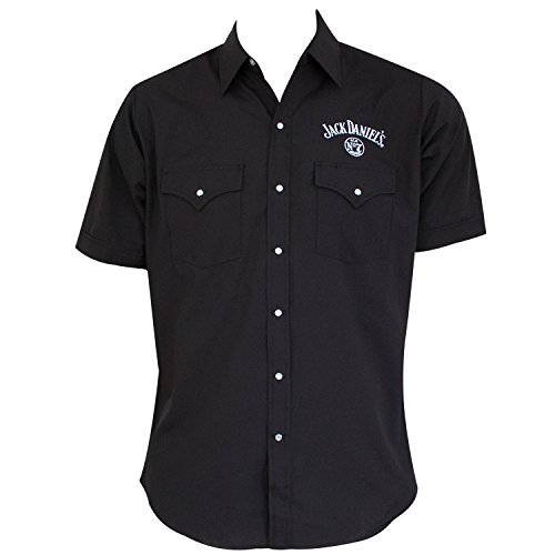 Jack Daniels Men's Daniel's Solid Logo Short Sleeve for sale  Delivered anywhere in Canada