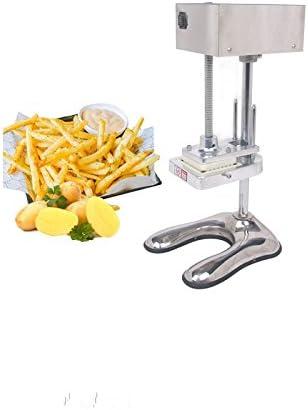 Neue Edelstahl E-Manuelle Frites Schneiden Maschine French Cutter Gemüse Chips Kartoffel + 3Klingen