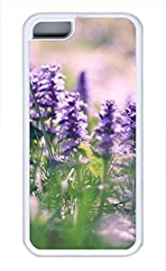 iPhone 5c case, Cute Lavender 4 iPhone 5c Cover, iPhone 5c Cases, Soft Whtie iPhone 5c Covers
