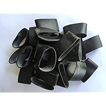 Ranger Bands 24 Made From EPDM Rubber for Survival and Strapping Gear About 1 Inch Tall 1 1/4 Inch Diameter Made in the USA