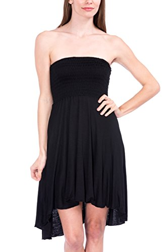 Modern Kiwi Eva High Low Dress Black XX Large
